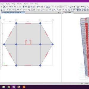 دانلود نمونه سوالات طراح سازه های سه بعدی با نرم افزار ETABS