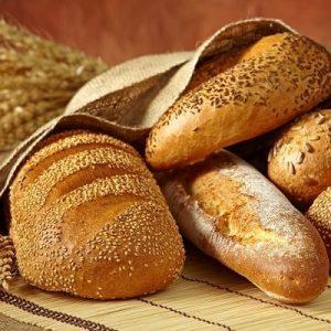 نانوایی نان های حجیم و نیمه